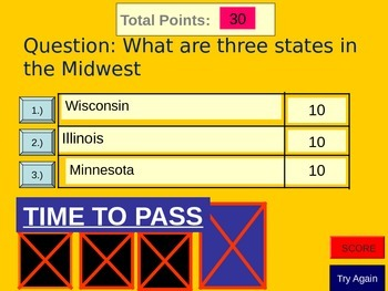 A Comparison of the West and Midwest Regions of the USA