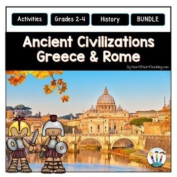 A Complete BUNDLE on TWO Ancient Civilizations: Ancient Greece & Ancient Rome