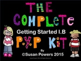 A Complete Colourful Kit of Posters and Activities for the IB PYP Classroom