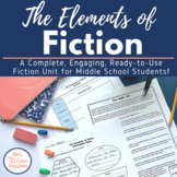 A Complete Fiction Unit - Great for Middle School Students!