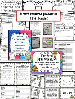 A Complete Fractions Bundle for Big Kids