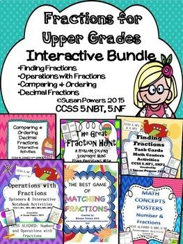 A Complete Fractions Bundle for Big Kids