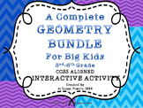 A Complete Geometry Bundle of Math Activities for Big Kids