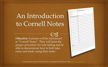A Complete Guide to Cornell Notes with Printables and Presentation