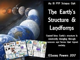 A Complete IB PYP Science Unit of Inquiry Earth's Structure and Landforms