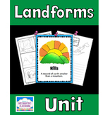 Landforms Unit Bundle