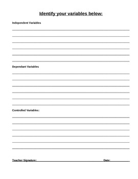 A Complete Science Fair Project Workbook - Common Core Aligned! Word Document