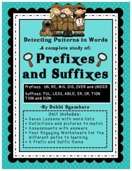 A Complete Study of Prefixes and Suffixes