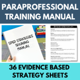 A Complete Year of Paraprofessional/SPED Training