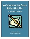 A Comprehensive Essay Writing Unit Plan