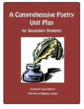 A Comprehensive Poetry Unit Plan