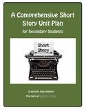 A Comprehensive Short Story Unit Plan