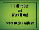 A Conflict Resolution Poster - Great For Bullying Prevention Programs