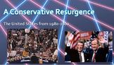 A Conservative Resurgence - APUSH New Curriculum Framework