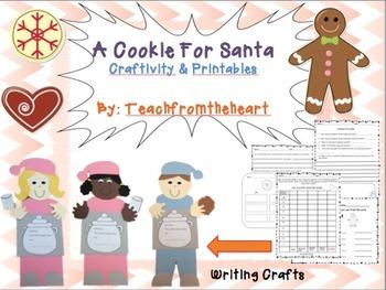 A Cookie For Santa (A Christmas Craftivity)