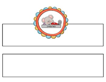 A Cookie for Mouse BookBands Headbands{Retelling and Sequencing}