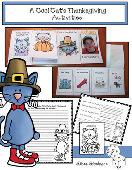 A Cool Cat's Thanksgiving Activites