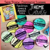 Theme Cards & Flags- Cooperative Learning Activities