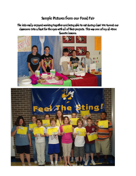 A Cooperative Learning Persuasive Project: Food Fair
