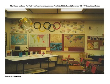 A Cooperative Learning World Map Project