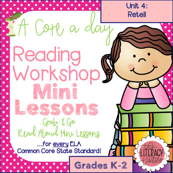 A Core a Day: Reader's Workshop Minilessons- Unit 4: Retelling