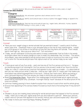 A Core a Day: Reader's Workshop Minilessons - Unit 2: Vocabulary