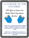 A Corner of the Universe Comprehension Questions