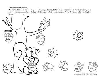 A Cornucopia of Receptive & Expressive Language Activities