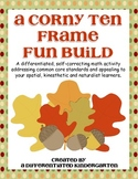 A Corny Ten Frame Fun Build-Differentiated and Aligned to Common Core