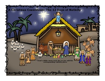 A Countdown to Christmas: 12 Days of Nativity
