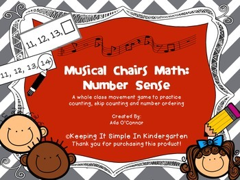 Musical Chairs Math: A Number Game to Get the Wiggles Out