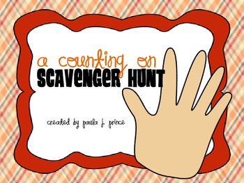 A Counting On Scavenger Hunt