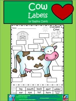 A+ Cow Labels