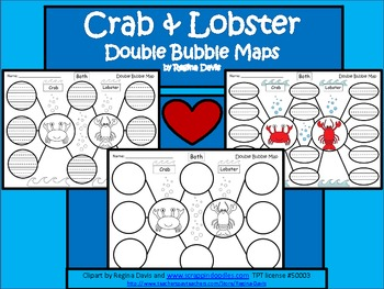 A+ Crab & Lobster:  Double Bubble Maps