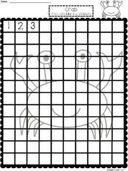 A+ Crab: Numbers 100 and 120 Chart