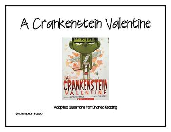 A Crankenstein Valentine Shared Reading