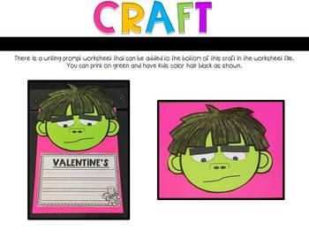 A Crankenstein Valentine Kinder Read