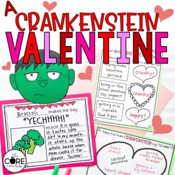 A Crankenstein Valentine Read-Aloud Activity