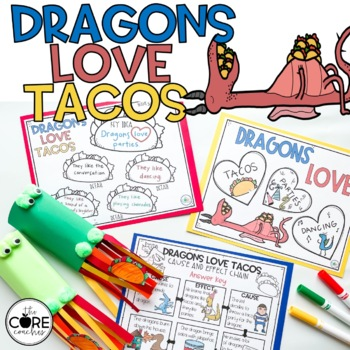 Dragon Loves Tacos: Interactive Read-Aloud Lesson Plans and Activities
