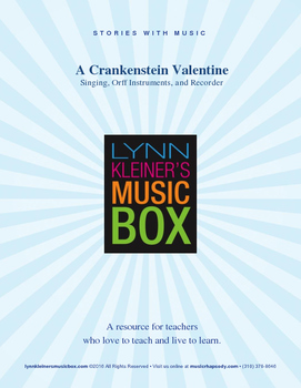 A Crankenstein Valentine: Story with Music