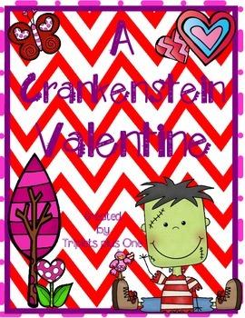 A Crankenstein Valentine - fun activities to accompany the book