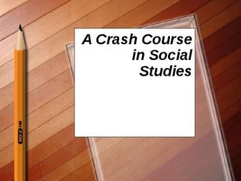 A Crash Course in Social Studies
