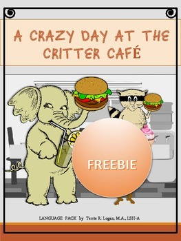 A Crazy Day at the Critter Cafe - FREEBIE