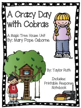 A Crazy Day with Cobras: A Magic Tree House Unit (A Merlin