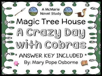 A Crazy Day with Cobras : Magic Tree House #45 Novel Study