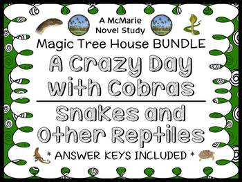 A Crazy Day with Cobras | Snakes and Other Reptiles : Magic Tree House BUNDLE