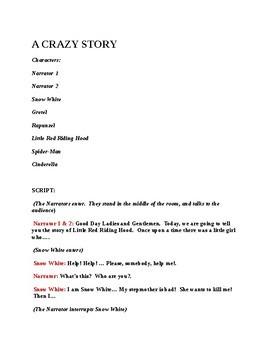 A Crazy Story Play