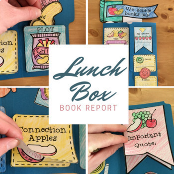 A Creative Book Report: The Lunch Lap Book For Any Novel
