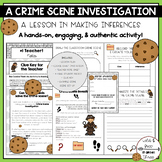 A HANDS-ON Crime Scene Investigation: An Activity in Making Inferences