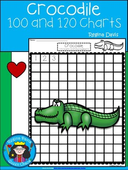 A+ Crocodile: Numbers 100 and 120 Chart